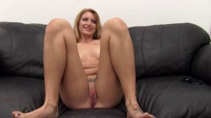 Backroom Casting Couch Alissa girl sucking cook
