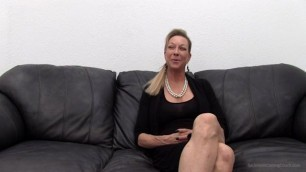 Backroom Casting Couch Diana deep throat fuck