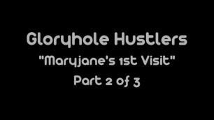 Gloryhole Swallow Maryjanes 1st Visit i love glory hole