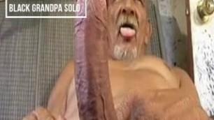 Black Grandpa solo